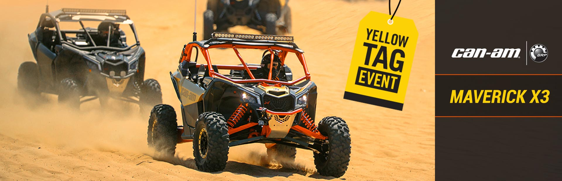 Can-Am: Yellow Tag Event (Maverick X3)
